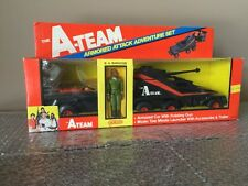 Vintage 1983 Galoob A Team A-Team Armored Attack Adventure Set NEW OPEN BOX Mr.T
