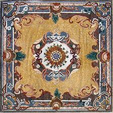 "80"" Handmade Carpet/Rug Floor Elegance Wall Design Home Marble Mosaic Art Tile"