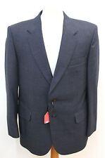 BURTON Blue Men's Single Breasted Check Print Smart Blazer Jacket Size UK 40