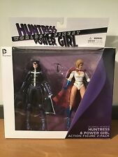 MOC DC Comics New 52 Worlds Finest Huntress And Power Girl Action Figures