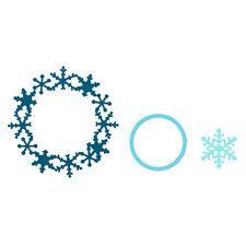 Sizzix framelit Die Set - 3 paquete copo de nieve: 657906