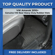 New Fully Tailored Car Floor Mats Luxury Tufted Carpet 2010-Present VW Amarok