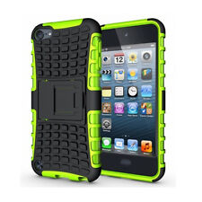 HeavyDuty Armour ShockProof Hard Cover Stand For Apple iPod Touch 6 6th Gen Case