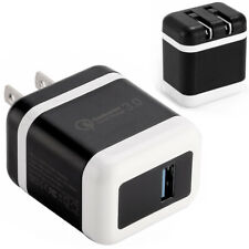 30W Fast Quick Charge QC 3.0 USB Wall Charger Adapter US Plug For iPhone/Samsung