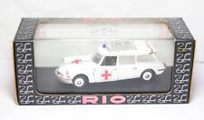 RIO No 116 Citroen ID19 Break Ambulance In Its Original Box - Mint Model Rare