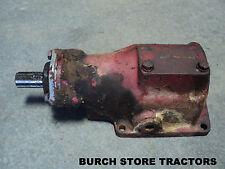 Belt Pulley Gear Box For Farmall 140 130 Super A 100 A C Super C B Bn Tractors