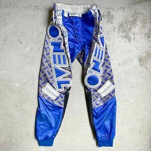 Vintage 1993 O'Neal Racing IFS Motocross Supercross Pants 30 - dubach axo fox jt