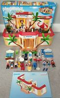 PLAYMOBIL 5998 tropical holiday inn hotel, extra figure boxed with instructions