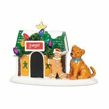 Department 56 Ginger's Dog House Snow Village Accessory NEW 799966 D56 2007