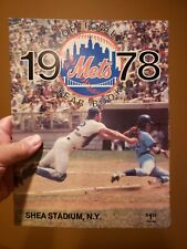 1978 New York Mets Official Yearbook Ungraded