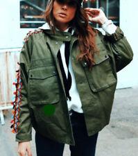 Zara Hip Cotton Outer Shell Coats, Jackets & Waistcoats for Women