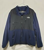 Men's The North Face Denali Blue Fleece Jacket Size XL