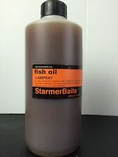 Lamprey oil for pike fishing
