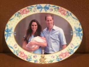 Peter Jones Plate celebrating The Birth of Prince George Limited Edition of 500.
