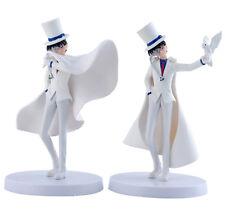 2x Detective Conan Kaito Kid The Phantom Thief 14.5cm/5.8in PVC Figure/M