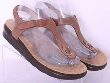 SAS Tripad Comfort Marina Thong Adjustable Leather T-Strap Sandals Women's US 8M