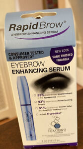 RapidBrow Eye Brow Enhancing Serum 3ml.