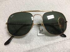 Brand New Ray Ban Aviator Sunglasses In Gold Frame / Green Lenses $160 Retail!