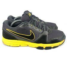 Nike Airflex Trainer Mens 10 Grey Yellow Running Training  429632-001