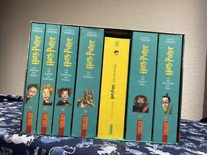 Harry Potter Bücher 1 -7 deutsch im Schuber, Box