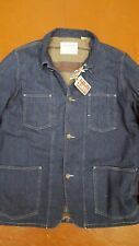 $750 NWT LEVI'S VINTAGE CLOTHING (LVC) 1915 BLANKETLINED SACK COAT 42 CONE DENIM