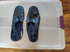 Blue Easy Street Comfort Wave Sandals 10W