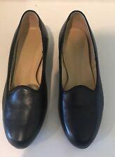 Drew Foot Saver Orthopedic Dress Shoe Black Size 6 1/2 WW