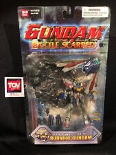 Bandai Mobile Fighter G Battle Scarred BURNING Gundam Action Figure MOC