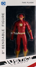 NJ Croce DC The New 52 The Flash 8'' Bendable Figure Justice League USA Seller