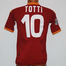 MAGLIA ROMA TOTTI 80 anni KAPPA wind player issue no MATCH WORN ISSUED 2007 2008