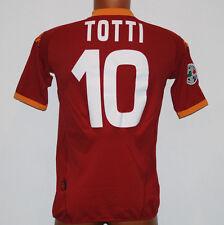 MAGLIA ROMA TOTTI 80 anni KAPPA wind player issue jersey XL 2007 2008