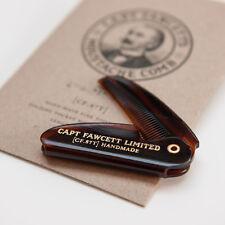 Capitán Fawcett's Bigote Peine Plegable De Bolsillo (CF.87T)