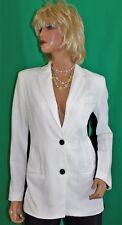 Designer Narciso Rodriguez - Design Nation White Black Deco Blazer Jacket Size 8