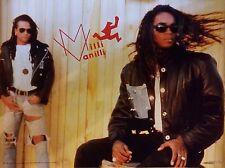 MILLI VANILLI 28X20 1990 Poster Vintage Original