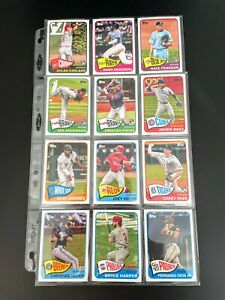 2020-21 Topps Series 2 Baseball - 1965 Redux Lot - 12 Cards Included