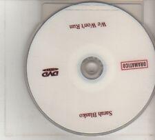 (DO867) Sarah Blasko, We Won't Run - DJ DVD