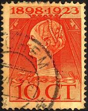 OLANDA - 1923 - 25° anniversario dell'incoronazione della Regina Guglielmina