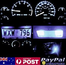 White Full LED Conversion Kit (dash HVAC Roof ect) Holden Commodore VN VP VR VS