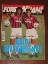 FORZA MILAN 1994/9 FOTO GIOCATORI A4 SALZBURG AJAX @@