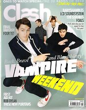 CLASH #46 Vampire Weekend THE HOT RATS Four Tet FINAL FANTASY Lissie Trullie NEW