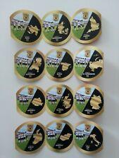 DFB Team Sticker EM 2020 von Ferrero Sammelbilder alle 12 Teamsticker Spielorte