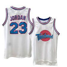 Space Jam Tune Squad Basketball Jersey Michael #23 Black White S M L XL