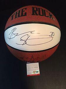BREANNA STEWART Signed Autograph White UConn Huskies Basketball PSA/DNA COA