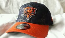 CHICAGO BEARS New Era 39THIRTY mens M/L stretch fitted hat (RARE CAP: 1 LEFT!)