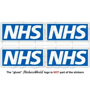 NHS Bumper Stickers 76mm Doctor Nurse Volunteer KeyWorker Support Virus x4