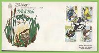 G.B. 1980 Birds set on Abbey First Day Cover, Washington, Tyne & Wear