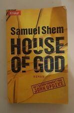 House of God SAMUEL SHEM Roman Buch Taschenbuch Bestseller Zustand 3 Vorwort