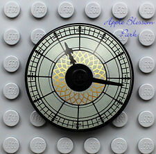 NEW Lego City Minifig TOWN HALL CLOCK w/Hands- 4x4 Minifigure Radar Dish 10224