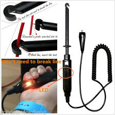 Car Truck Motorcycle 12V Circuit Tester DC 6V - 24V Test Pencil Light Hook Probe