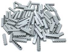 LEGO LOT OF 100 NEW LIGHT BLUISH GREY BUILDING BLOCKS BRICKS PIECES